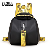 DIZHIGE Brand Fashion Oxford Women Backpack High Quality School Backpack For Women Designer Solid Ribbons Zipper