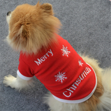 Dog Clothes Christmas Costume Cartoon Clothes For Small Dog