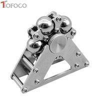 TOFOCO Figet Spinner Fidget Spinner Metal Assemble Ferris Wheel Hand Spinner Cube Toy And EDC Anti