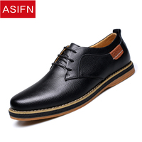 ASIFN Men's Shoes Business Leather Man Shoes Male Work Origin Supply Autumn Winter New Casual Fashion England High Quality