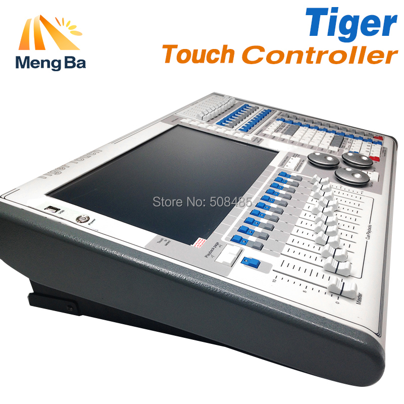 Digital Tiger Touch Titan 10.1/10.0/9.1V Screen DMX Lighting Console Controller For Stage Lighting DJ equipment with Flight Case