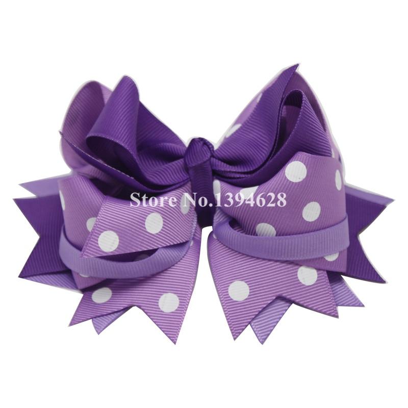 Përkuljet Tuaja 1PC 5.5Inheshe Dritat e purpurta të purpurta Polka - Aksesorë veshjesh - Foto 2