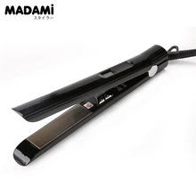Buy Professional Electric Hair Straightener Straightening Iron 480F MCH Fast Heating 1 Inch Brazilian Alisador de Cabelo Titanium