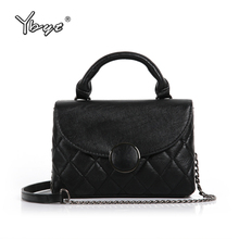 YBYT brand 2018 new fashion diamond lattice women totes small packs female shopping bag ladies shoulder messenger crossbody bags