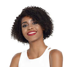 Debut Lace Front Human Hair Wigs Curly Short Human Hair Wig 100% Remy Indian Hair Wigs U Part Curly Lace Front Wig For Mom Hair