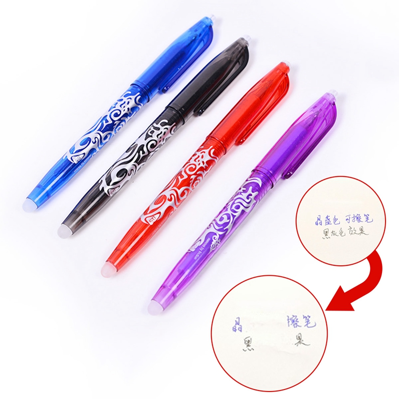 Erasable Colorful Magical Writting Gel Pen Ink Erasable Student Stationery Writing Pen Multifunction 0.7 Mm Tip Writ