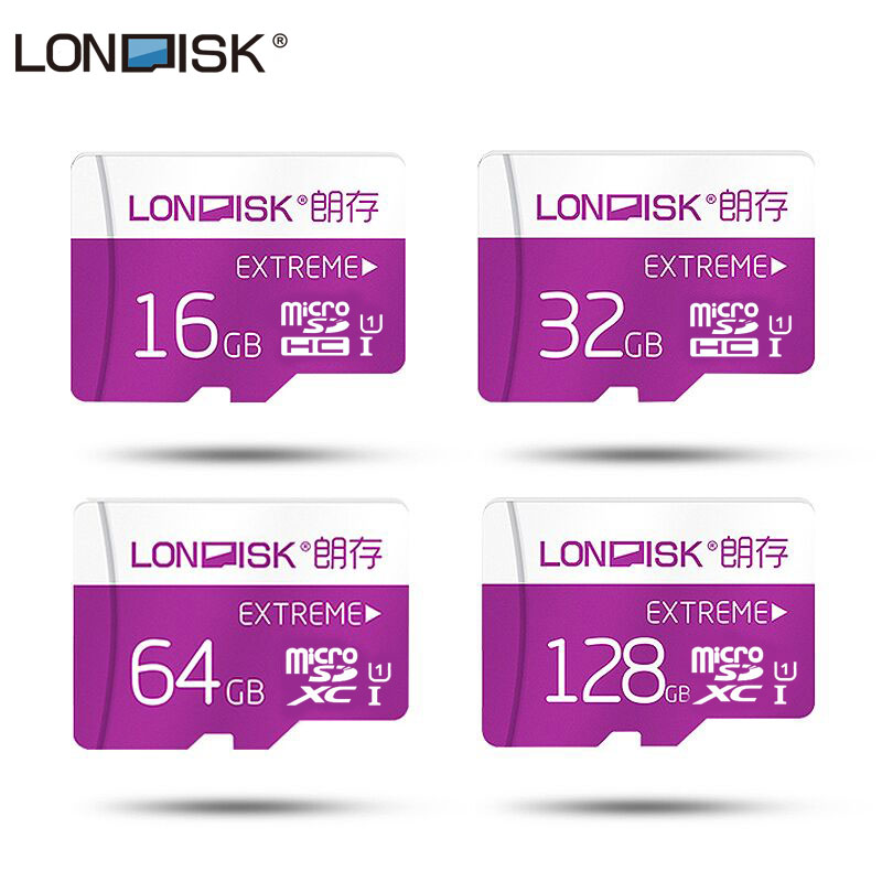 цена на Londisk Micro SD Card 8GB 16GB 32GB 64GB 128GB Class10 UHS-1 Flash Memory Card MicroSD TF Card for Smartphone Pad Camera