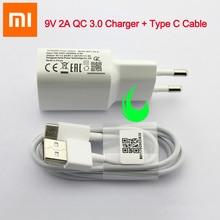 Original Xiao mi mi 9 Se Schnelle Ladegerät Quick Charge QC 3,0 Power Adapter Für F1 mi 9 Plus A2 a1 8 6 Max mi x 2 2S 3 Red mi Hinweis 7 Pro
