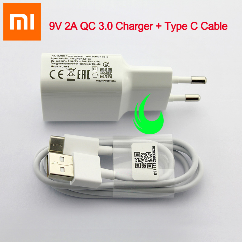 Original Xiaomi Mi9 Se Fast Charger Quick Charge QC 3.0 Power Adapter For F1 Mi 9 Plus A2 A1 8 6 Max Mix 2 2S 3 Redmi Note 7 Pro-in Mobile Phone Chargers from Cellphones & Telecommunications