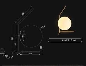 Image 5 - โมเดิร์นไฟ LED โคมไฟตั้งโต๊ะโต๊ะโคมไฟแก้วตารางโคมไฟตั้งโต๊ะสำหรับห้องนอนห้องนอนห้องนั่งเล่นชั้นข้างเตียง gold Designs