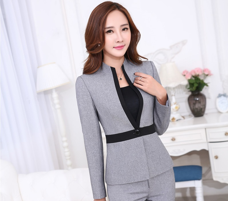 Novelty Grey Long Sleeve 2015 Autumn Winter Uniform Styles ...