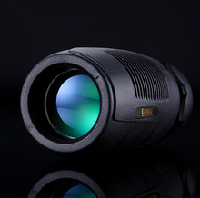 лучшая цена HD 10X32 wide Angle monocular telescope pocket-size Tourism waterproof all-optical green film Binoculars telescope for Hunting