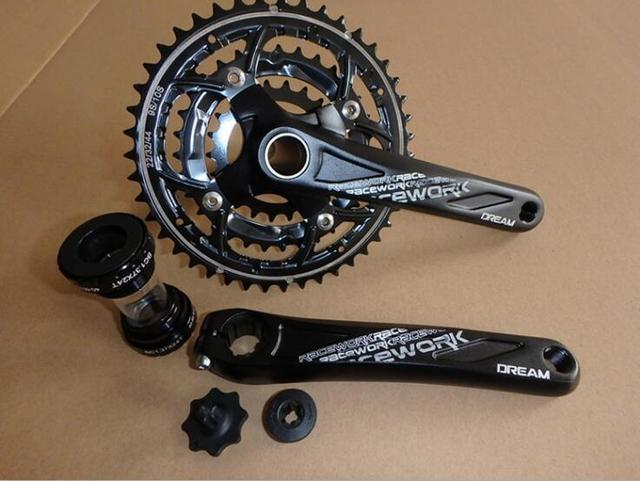 Racework 22 32 44t 9 10s Racing Crankset Track Bicycle Bicicleta