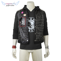 Watch_Dogs 2 DedSec Cosplay Costumes Stage Performance Clothes ,Perfect Custom for You !
