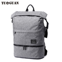 TUGUAN 15 6 Inch Laptop Backpack Extended Capacity Men Business Pack Waterproof Anti Theft Fashion Computer