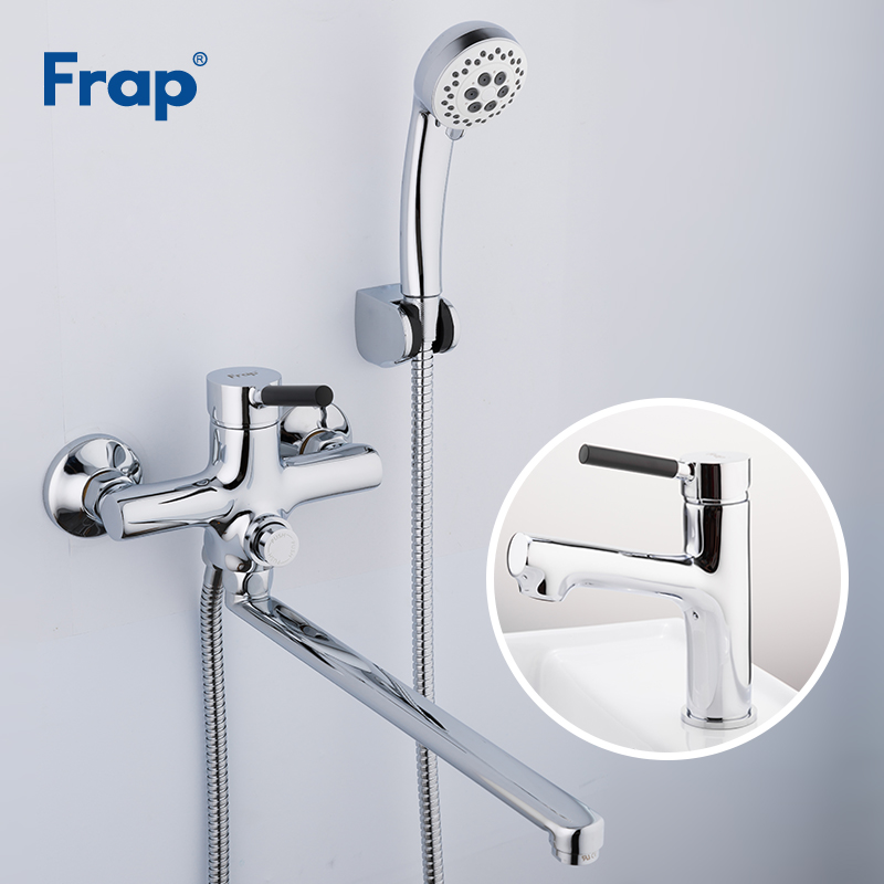 Frap Bathroom Thermostatic Shower Faucet Set Bath Bathtub Faucets