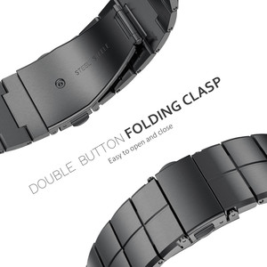 Image 5 - Cinghia per Apple Cinturino 38/40 Millimetri 42/44 Millimetri Del Metallo Dellacciaio Inossidabile 1 Braccialetto di Collegamento Fascia Smartwatch per di Apple Orologio Serise 1 2 3 4 5