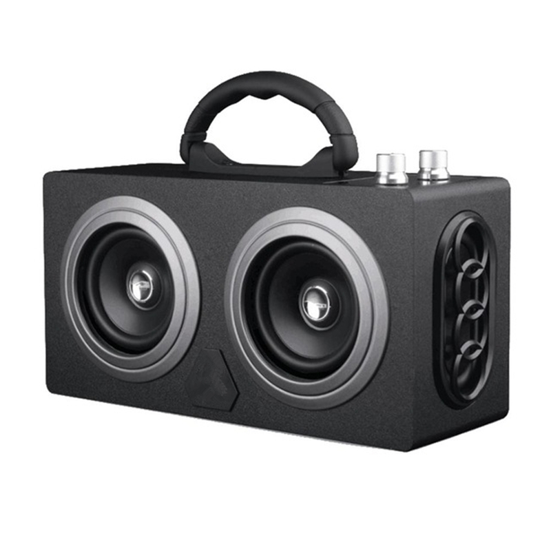 Wireless Portable Bluetooth Speaker M8 Outdoor Stereo Super Bass Subwoofer Dancing Loudspeaker With Big Power Big Sound Speaker 20w portable wooden high power bluetooth speaker dancing loudspeaker wireless stereo super bass boombox radio receiver subwoofer