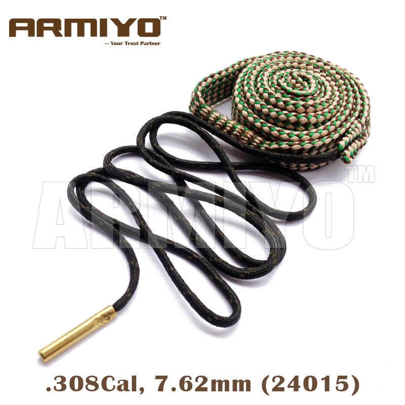 Armiyo تتحمل ثعبان 7.62 مللي متر. 308 30-30. 30-06. 30. 303 Cal AK برميل بندقية نظافة بندقية تنظيف كيت 24015 الصيد اكسسوارات