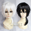 Atores Mekakucity Konoha Kagerou projeto SUNCOS kuroha branco preto curto anime cosplay peruca de cabelo frete grátis