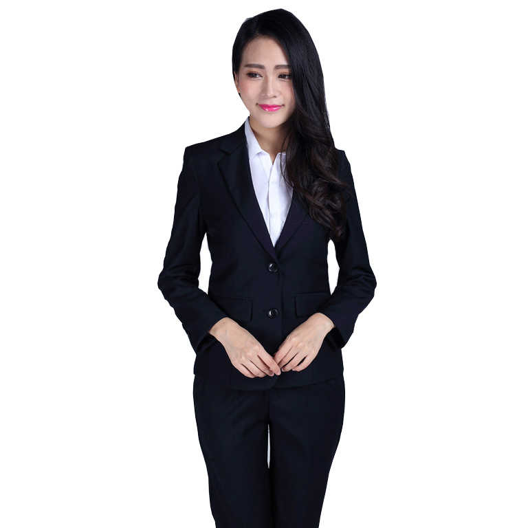 (Jacket+Pants)2019 New Women Formal Business Suit Fashion Party Wedding Tuxedo Professional Work Suit