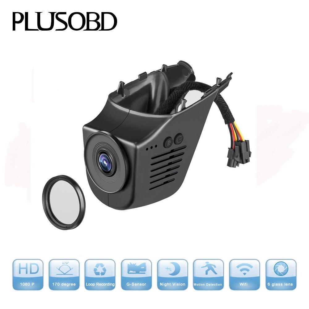 Hidden Car DVR for Tesla Full HD 1080P Wifi 170 Degree Car DVR Camera Video Recorder Automobile DVRs Dash Cam Night Version