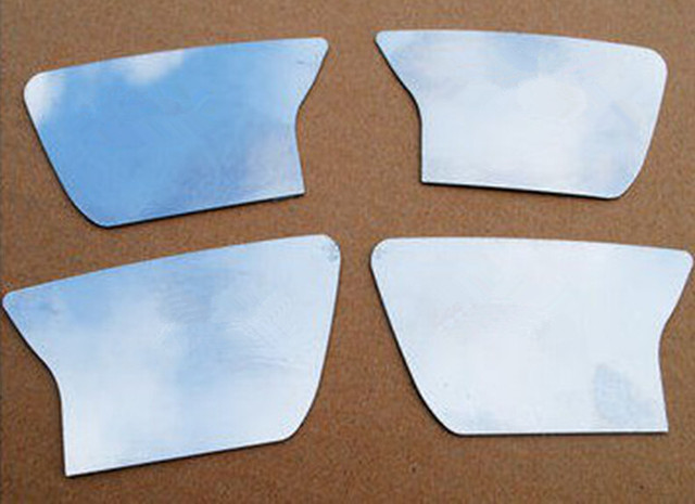 Car styling 4Pcs Inner Door Handle Cover Trim For Jeep Grand Cherokee Auto Accessories 11-15