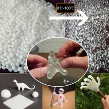 20g/50g White Polymorph Thermoplastic Friendly Plastic Insta Morph Polycaprolactone Polymorph Pellet DIY Slime Tool High Quality(China)
