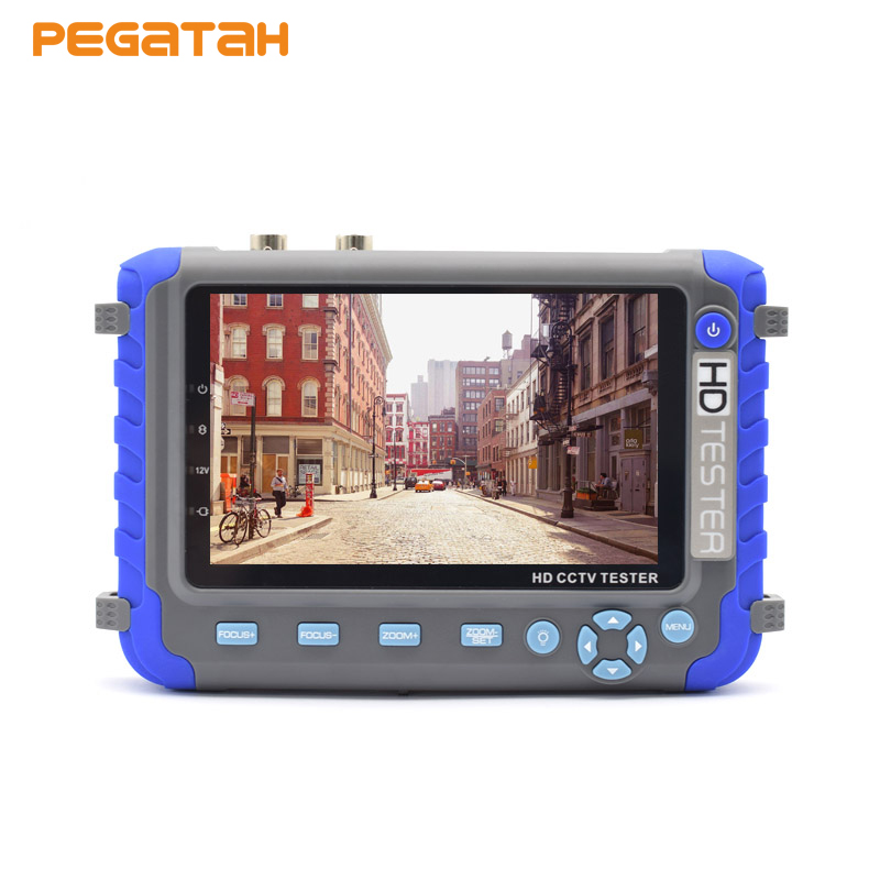 5 inch 5MP 4MP 1080P AHD TVI CVI CVBS Analog Video Security Camera CCTV tester monitor Support HDMI/VGA input Net Cable test upgraded 4 in 1 5mp ahd tvi 4mp cvi analog security camera tester iv8w 5 inch cctv tester monitor vga hdmi input utp cable test