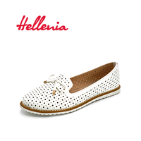 Hellenia Flat Shoes Women Flats Ladies Dress Shoes Sneakers White Loafers Slip On Casual Shoe WomenS Shoes Casual Dress