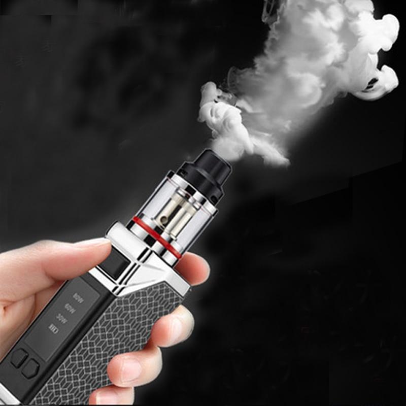 Original HB 80w box mod kit 2200mah build-in batterie mit 0.5ohm 2,5 ml tank dampf kit elektronische zigarette vape stift kit