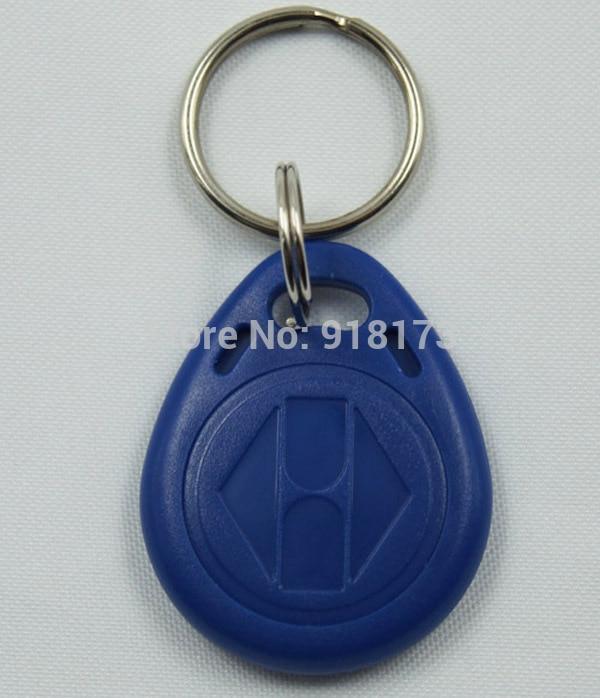 50pcs/lot 125Khz RFID Proximity tag Keyfob token Access Control Rfid key fob blue turck proximity switch bi2 g12sk an6x