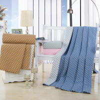 Cotton Yarn Little Stars Blanket Soft Home Textiles/Sofa Throw Blanket / Air Condition Blanket for Beds Queen Full Twin Size