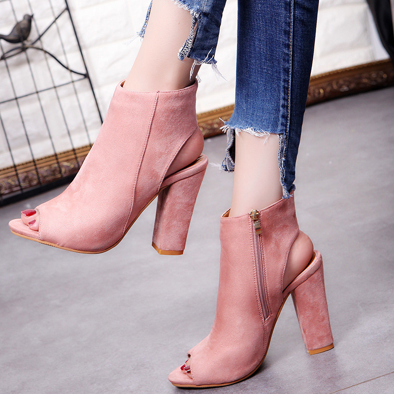 1ecae940307 Womens High Heels Shoes Casual Party Platform Pumps Peep Toe Shoes Lady  Plus Big Large Size 40 41 42 43 2018 AGUTZM-in Women s Pumps from Shoes on  ...