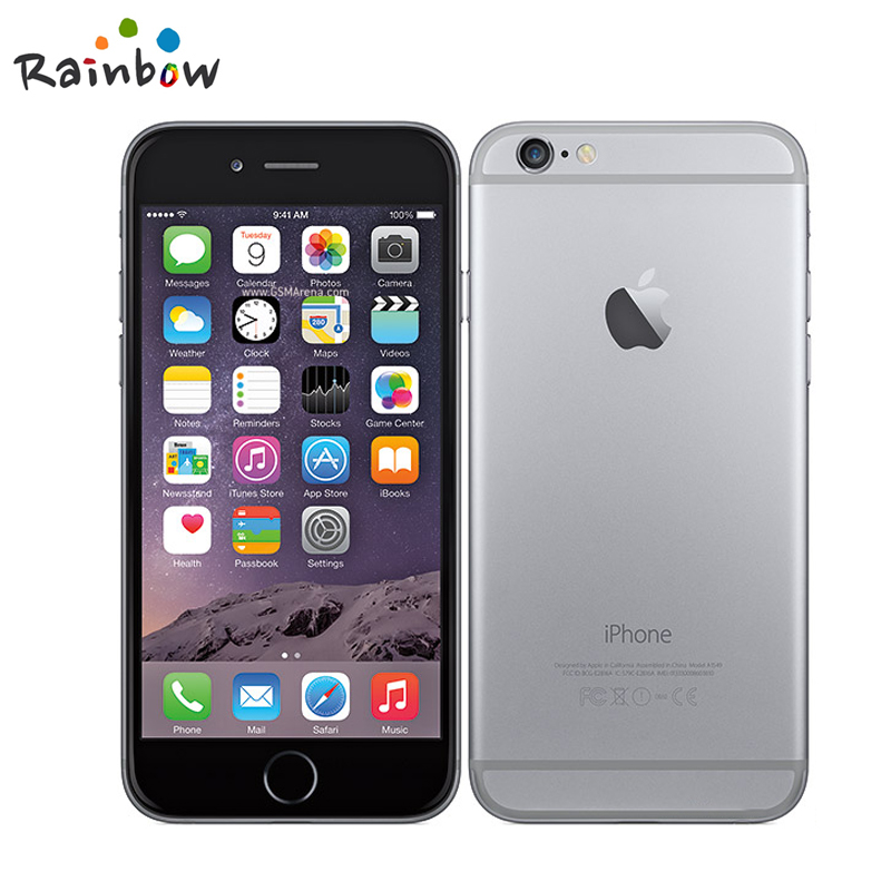 bilder für Entsperrt Apple iPhone 6 1 GB RAM 4,7 zoll IOS Dual Core 1,4 GHz telefon 8,0 MP Kamera 3G WCDMA 4G LTE Verwendet 16/64/128 GB ROM