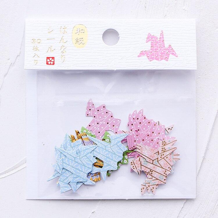 Купить с кэшбэком Creative cartoon cute animals  panda cherry blossom Japanese and paper stickers diy hand account diary decorative stickers