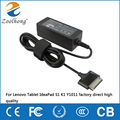 12V 1.5A 18W AC laptop power adapter for Lenovo Tablet IdeaPad S1 K1 Y1011 factory direct high quality