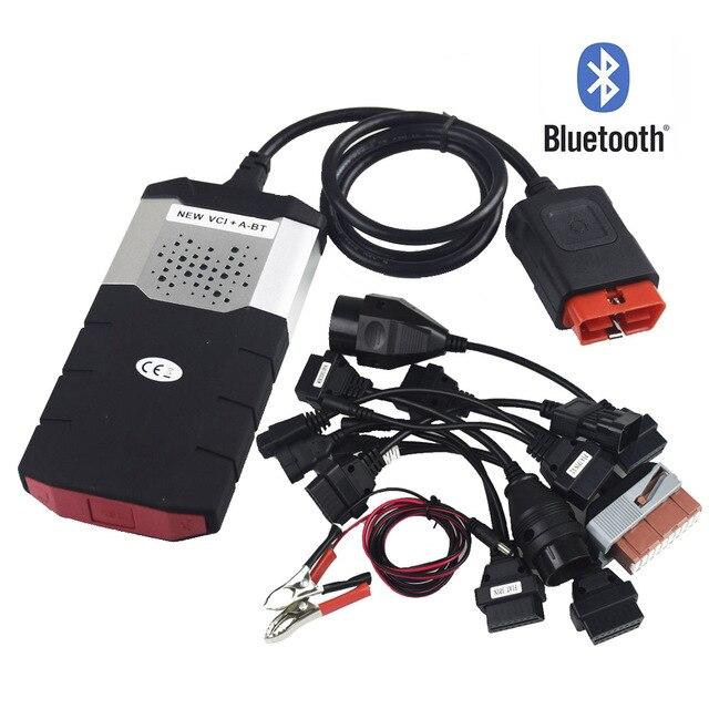 NEUE VCI für Delphis vd ds150e cdp Tcs Cdp Pro Plus 2015R3 keygen OBD autos lkw diagnose 8 stücke auto kabel adapter mulitidiag