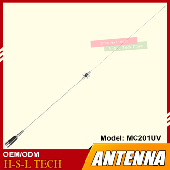 цена на RF Antenna Dual Band Handheld Trunk Mobile Radio Antenna Vehicle-Mounted Antenna High Gain Aerial Car radio Accessory