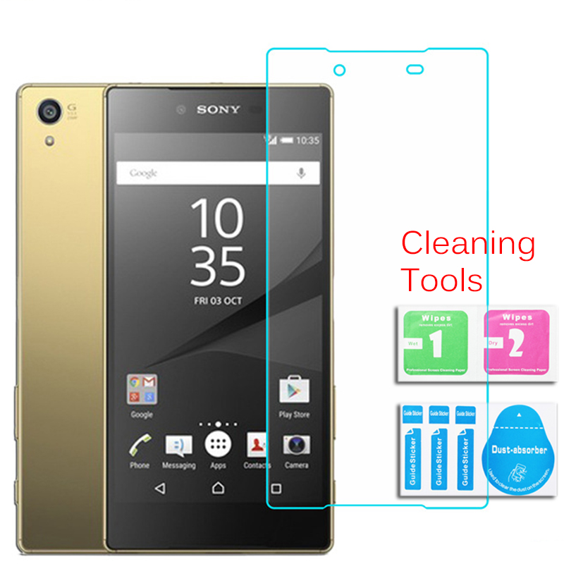 For Sony Xperia Z5 Premium Dual tempered glass screen protector 0.26mm 2.5 9h Safety Protective film on E6833 E6853 E6883
