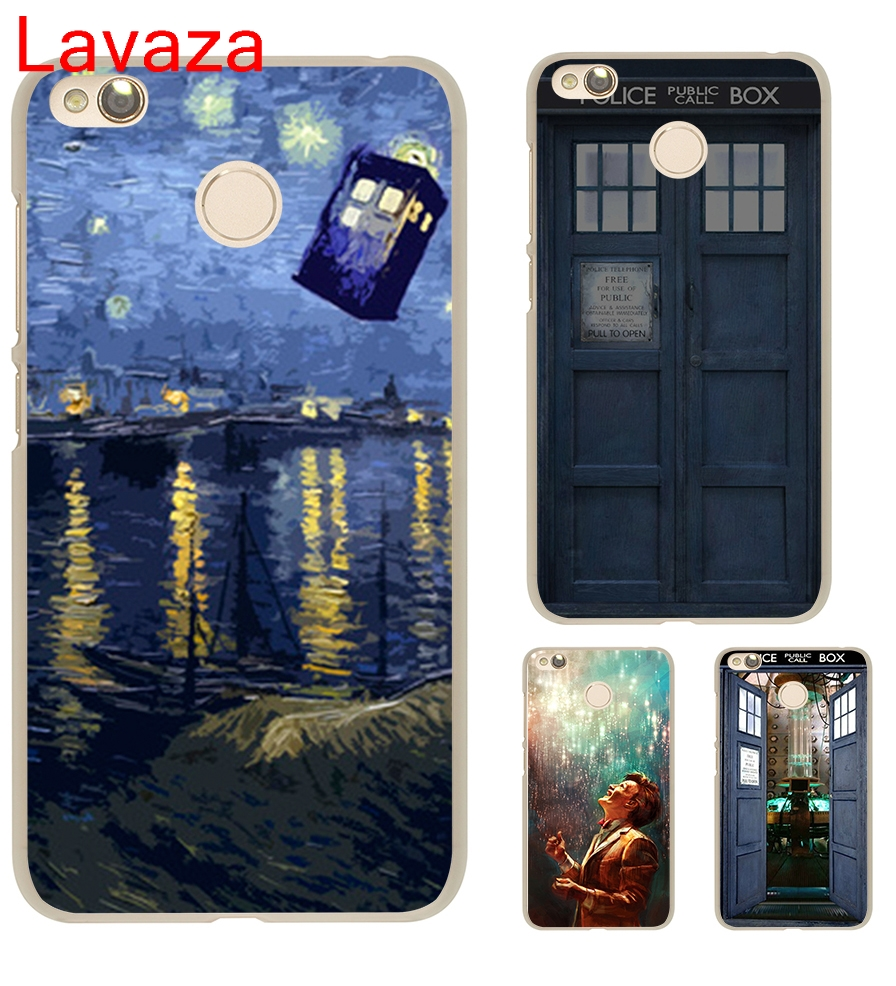 Lavaza Tardis Dr Doctor Who Police Call Box Doctor who Hard Transparent Case Cover for Xiaomi Redmi 4x