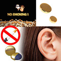 2pc Auricular Magnet Therapy Quit Smoking ZEROSMOKE Patch Stop Smoking ear massager No Cigarettes Health Care