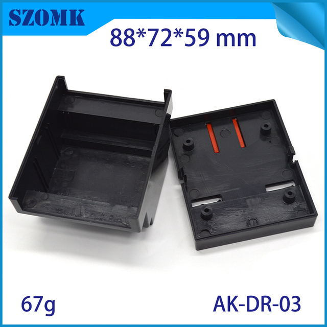 4piece Best Price Plastic Electronic Project Box ABS material ...