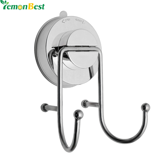 Bathroom Towel Hook Suction Cup Hooks Vacuum Holder Wall Mounted