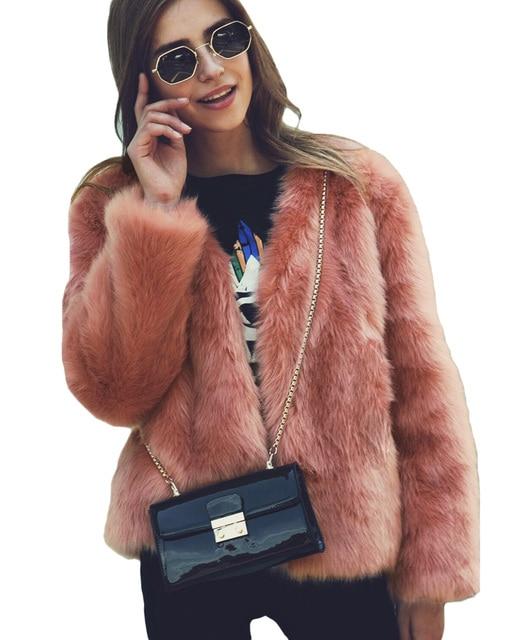 women winter faux fur coat long sleeve 3xl plus size oversized