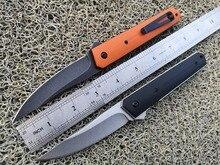 JIAHENG C81 OEM Kwaiken складной Ножи 9cr18 лезвие g10 Ручка карман шарикоподшипник Флиппер EDC тактический Ножи