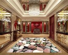 3d pvc flooring custom photo mural picture wall sticker pretty stone floor painting room wallpaper for walls 3d