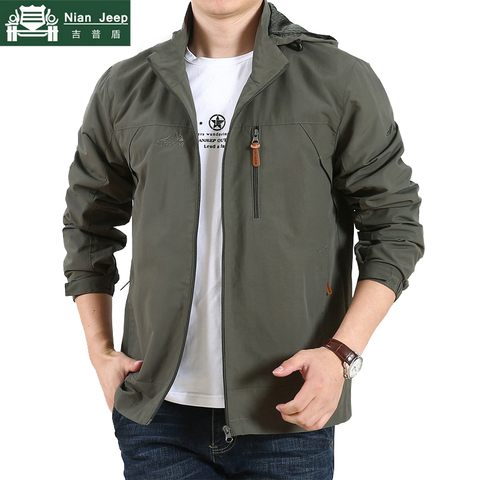 New Spring Military Jackets Men Outwear Army Quick Drying Waterproof Casual Loose Thin Jackets Mush Liner Men Jacket Size M-5XL Pakistan