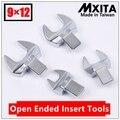 MXITA открытые вставные инструменты 9X12 привод 7-36 мм крутящий момент гаечный ключ головка