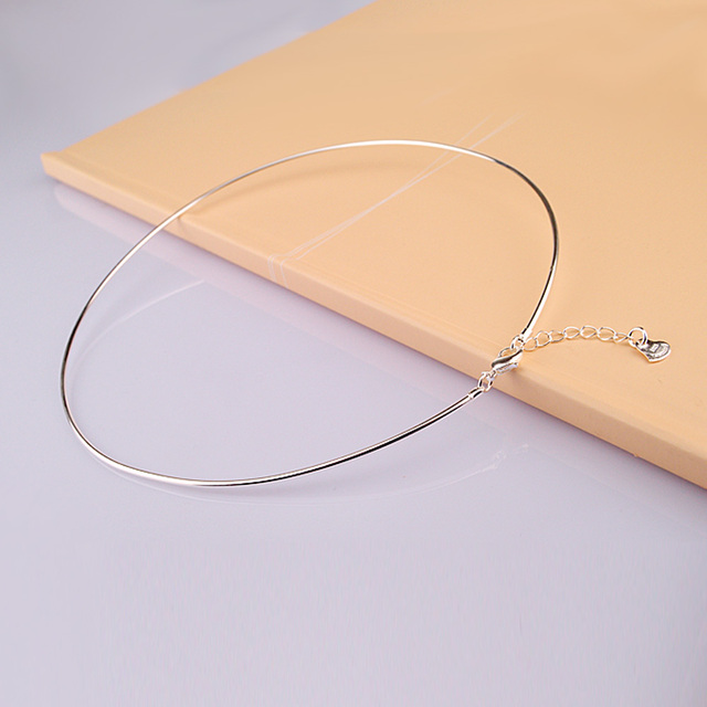 Sterling Silver Collar women's Vintage Style